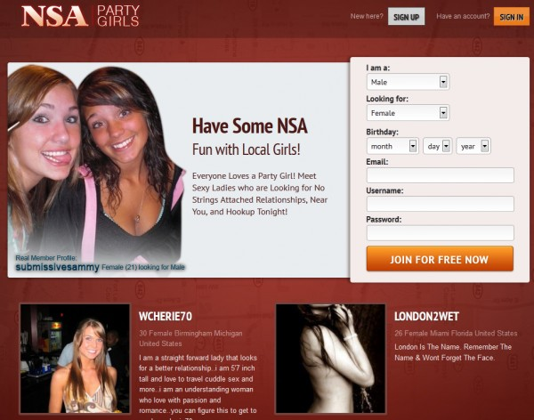 nsa dating